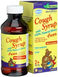 Hyland's 4Kids Cough Syrup with 100% Natural Honey - 4oz