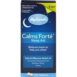 Hyland's Calms Forté Sleep Aid Caplets - 100ct