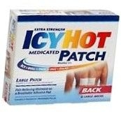 Icy Hot Patches Extra Strength Large (Back) 5/Box