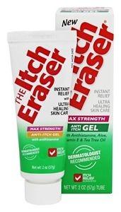 Itch Eraser Max Strength Anti Itch Gel - Ultra Healing - 2.0 oz