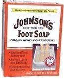 Johnsons Foot Soap Packets 4/Box