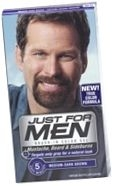 Just For Men Brush-In Moustache Beard & Sideburns Medium/Dark Brown Gel