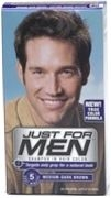 Just For Men Shampoo Hair Color Medium/Dark Brown