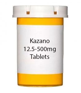Kazano 12.5-500mg Tablets