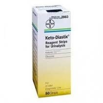 Keto-Diastix Strip- 50ct