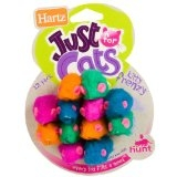 Hartz® Just For Cats Kitty Frenzy Cat Toys- 12ct ** Extended Lead Time **