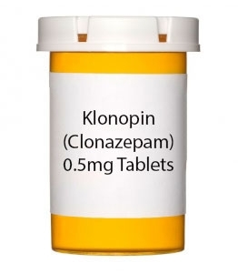 Klonopin (Clonazepam) 0.5mg Tablets