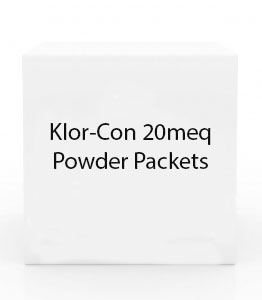 Klor-Con 20meq Powder Packets