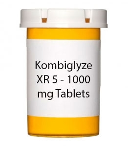 Kombiglyze XR 5 - 1000 mg Tablets