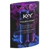 K-Y Yours + Mine Couples Personal Lubricant- 3oz