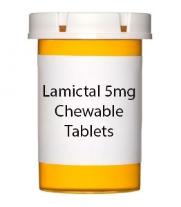 Lamictal 5mg Chewable Tablets
