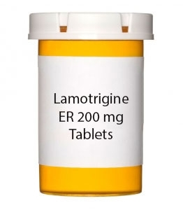 Lamotrigine ER 200 mg Tablets (Generic Lamictal XR)
