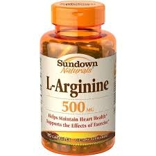 Sundown Naturals L-Arginine 500mg Dietary Supplement Capsules - 90ct