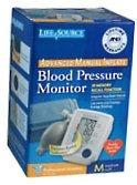 Life Source Advanced Blood Pressure Monitor Manual Inflate UA-705V Med Cuff