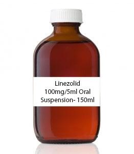 Linezolid 100mg/5ml Oral Suspension- 150ml
