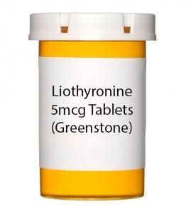Liothyronine 5mcg Tablets (Greenstone)