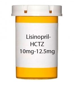 Lisinopril-HCTZ 10mg-12.5mg Tablets