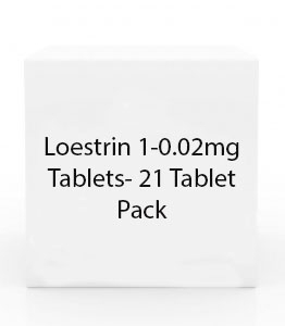 Loestrin 1-0.02mg Tablets- 21 Tablet Pack