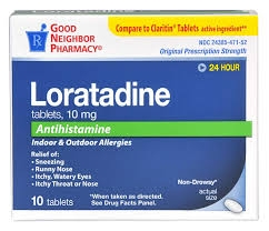 GNP Loratadine 24HR 10mg Tablets- 10ct