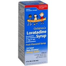 Children's Loratadine 5mg Syrup- 4oz