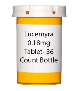 Lucemyra 0.18mg Tablet- 36 Count Bottle