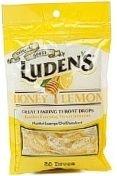 Luden's Throat Drops, Honey Lemon, 30 Count Bag