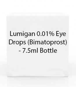 Lumigan 0.01% Eye Drops (Bimatoprost) - 7.5ml Bottle