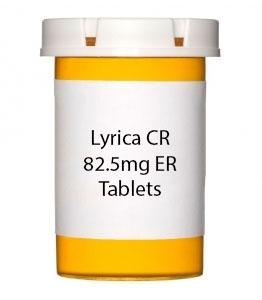Lyrica CR 82.5mg ER Tablets
