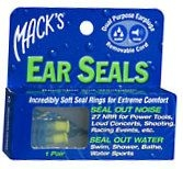 Macks Ear Seals Dual Purpose Earplugs 1 Pair