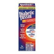 Maximum Strength Diabetic Tussin DM Expectorant Cough Supressant - 4 fl. oz.