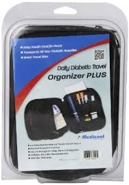 Medicool Daily Diabetic Organizer Plus Case