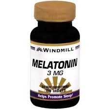 Windmill Melatonin 3mg Tablets - 100ct