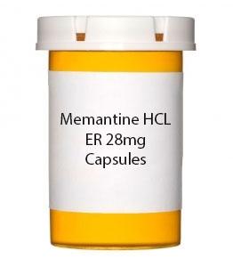 Memantine HCL ER 28mg Capsules