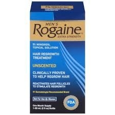 Men's Rogaine Extra Strength  Ocean Scent- One Month Supply