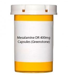 Mesalamine DR 400mg Capsules (Greenstone)