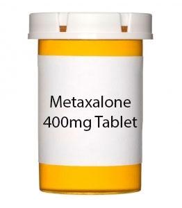 Metaxalone 400mg Tablet