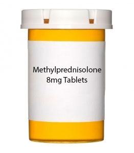 Methylprednisolone 8mg Tablets
