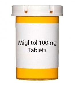Miglitol 100mg Tablets