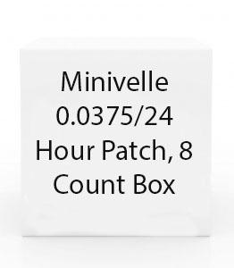 Minivelle 0.0375/24 Hour Patch, 8 Count Box