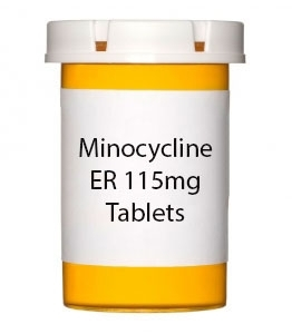 Minocycline ER 115mg Tablets (Generic Solodyn)