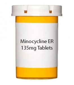 Minocycline ER 55mg Tablets (Generic Solodyn)- 30ct Bottle