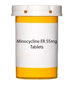 Minocycline ER 55mg Tablets