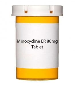 Minocycline ER 80mg Tablet