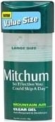 Mitchum Anti-Perspirant/Deodorant Clear Gel Mountain Air 2.25oz