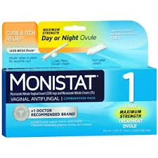 Monistat Combination Pack, 1-Ovule Insert with Applicator & External Cream- 0.32oz