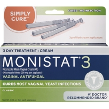 Monistat 3 Pre-filled Cream Applicator