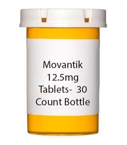 Movantik 12.5mg Tablets-  30 Count Bottle
