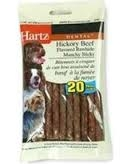 Hartz® Dental Rawhide Munchy Sticks- 20ct ** Extended Lead Time **