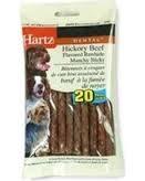 Hartz® Dental Rawhide Munchy Sticks- 20ct ** Extended Lead Time **