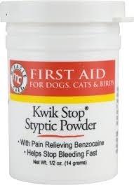 Kwik Stop Styptic Powder- 1.5oz